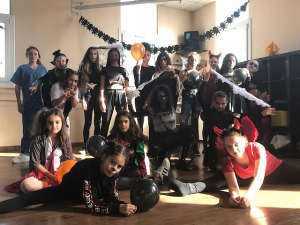 Stage de danse halloween party