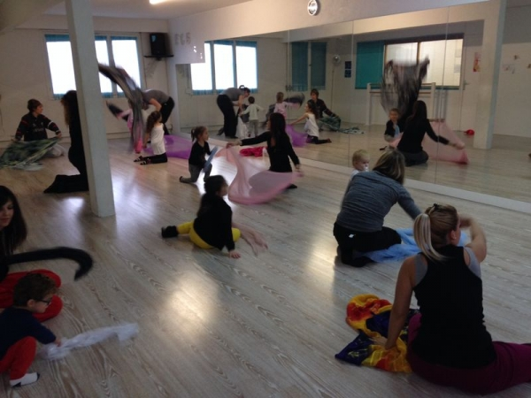 Stage de danse parents-enfants