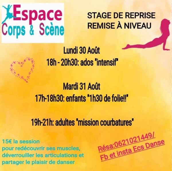 Stage de danse SUMMER 2021